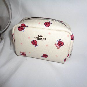 Coach 2492 Ladybug Mini Boxy Cosmetic Case